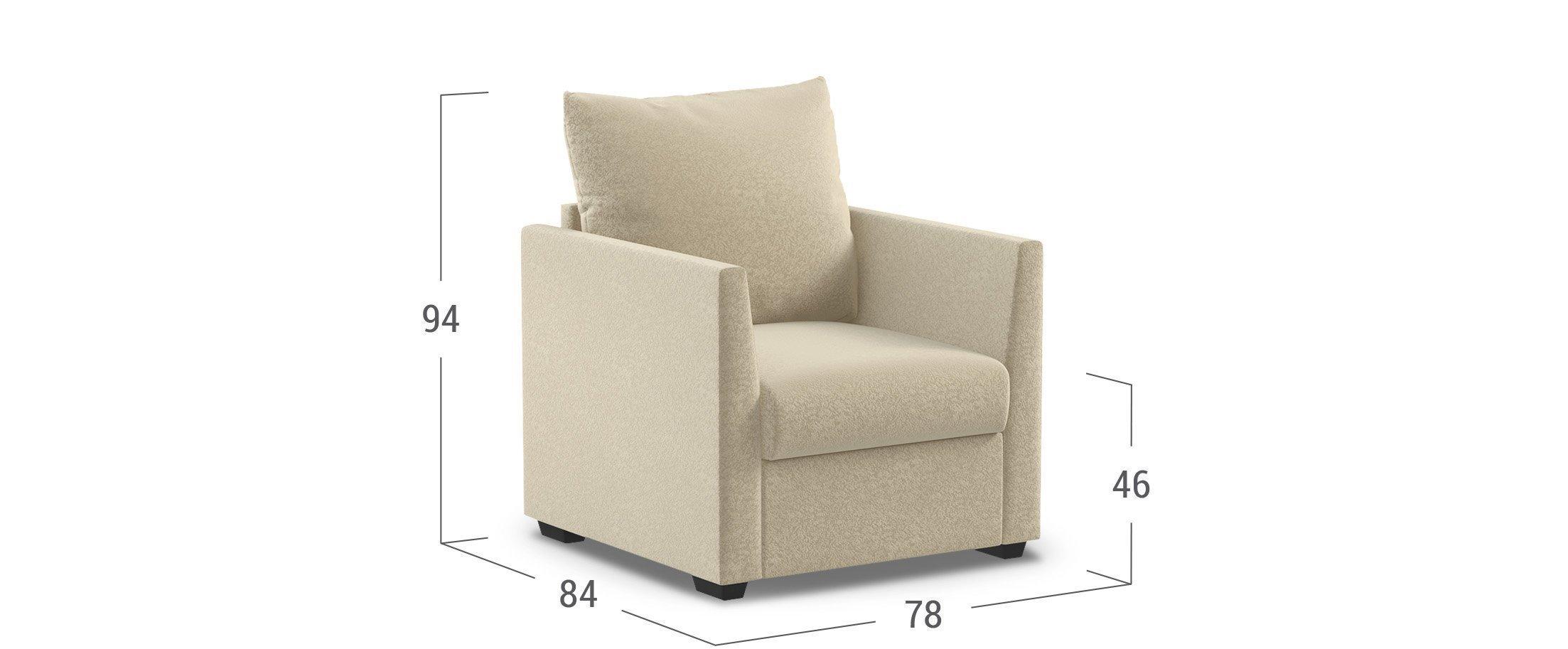 Кресло тканевое Дубай 030