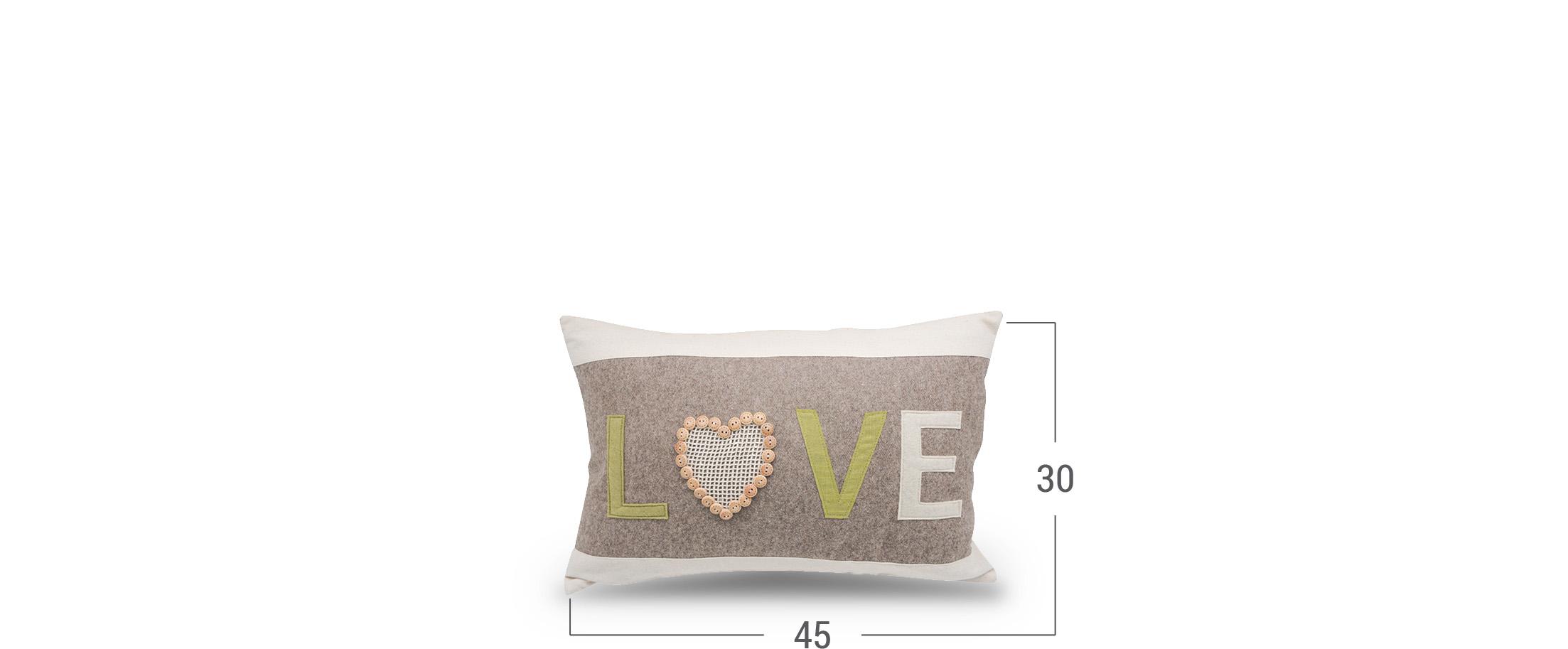 Подушка декоративная LOVE 4010